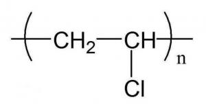 Molecular formula of PVC