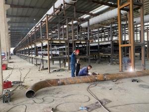 lines building