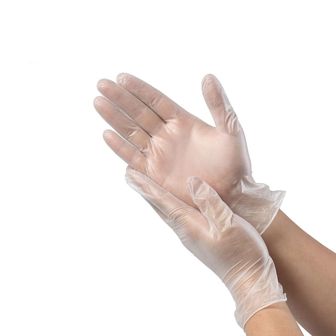 Multifunction Cheap Clear Stretch Disposable PVC Gloves