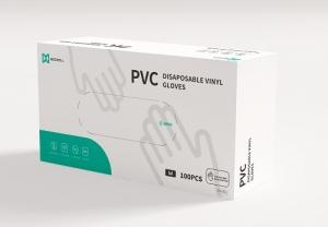 Medwell medical pvc gloves box